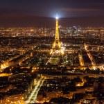 Skyline of Paris at night — Stock Photo #73913473