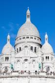Sacre-Coeur Basilica in Paris, France. — Stock Photo