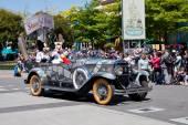 Disney Stars and Cars Parade, a Parade in Disneyland Resort Paris — Stock Photo