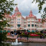 Entrance in Disneyland Paris — Stock Photo #74293545