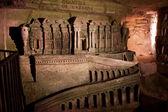 The Catacombs of Paris — Stock Photo