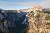 Sunset at Glacier Point in Yosemite National Park, California, USA. — Stock Photo