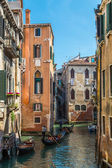 Canal in Venice, Italy. — Stock Photo