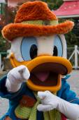 Character during Disneyland Paris Parade and show. — Stock Photo