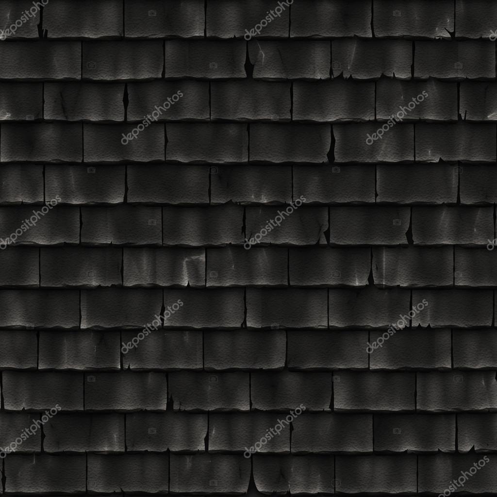 dachziegel schwarz nahtlose textur oder hintergrund. Black Bedroom Furniture Sets. Home Design Ideas