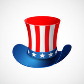 American Independence Day. Holiday hat — Stock Vector