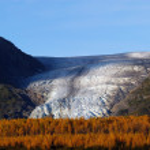 Autumn on Exit Glacier Seward Alaska — Stock Photo #74385217