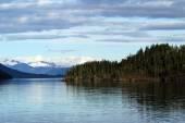 Prince William Sound Alaska landscape — Stock fotografie
