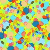 Background of colorful circles. — Stock Vector
