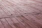 木製の床υπόβαθρο του ξεπερασμένο ξύλου — ストック写真