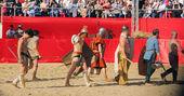 Gladiatorial combat — Stock Photo