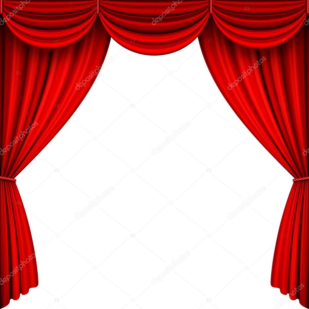 Vector Red Stage Curtains Stock Vector 169 Pingebat 75136401
