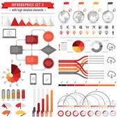 Vector Infographics Set 3 — Stock Vector