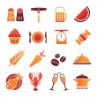 Vector Color Food Icons Collection 2 — Stock Vector #78614358