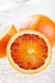 Fresh blood oranges — Stock Photo