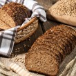 Постер, плакат: Rye bread with seeds