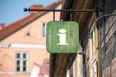 Tourist information office sign — Stock Photo