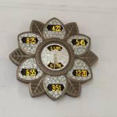 アブダビのイスラム教の時計 — ストック写真
