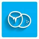 Coconut icon — Stock Vector