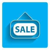 Ikona podepsat prodej dveří — Stock vektor