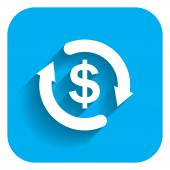 Money cycle — Stock Vector