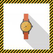 Wristwatch — Stock Vector