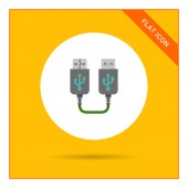 USB extender — Stock Vector