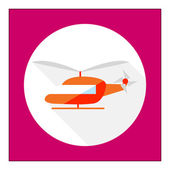 Helicopter icon — Stock Vector