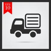 Lorry icon — Stock Vector