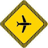 飛行機 — ストックベクタ