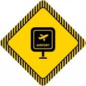 机场标志 — Stockvektor