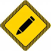 Ołówek — Wektor stockowy