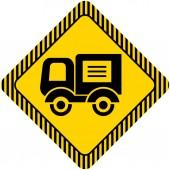 Символ грузовика — Cтоковый вектор