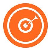 Target hitting — Stock Vector