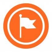 Flag icon — Stock Vector