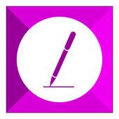 Kalem simgesi — Stok Vektör