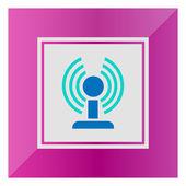 Router Wifi — Vettoriale Stock