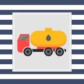 Tanker truck — Stock Vector