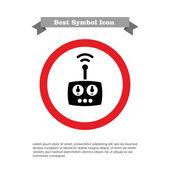 Radio remote control — Stock Vector