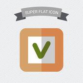 Tick icon — Stock Vector
