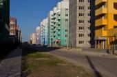 Urban renewal area in the city of Ulyanovsk — Stock Photo