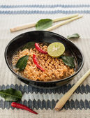 Hot spicy noodle — Stock Photo