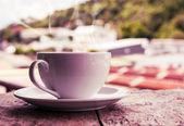 Moning coffee — Stock Photo