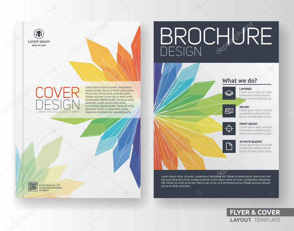 multipurpose corporate business flyer layout template design multipurpose corporate business flyer layout template design stock vector 117189738
