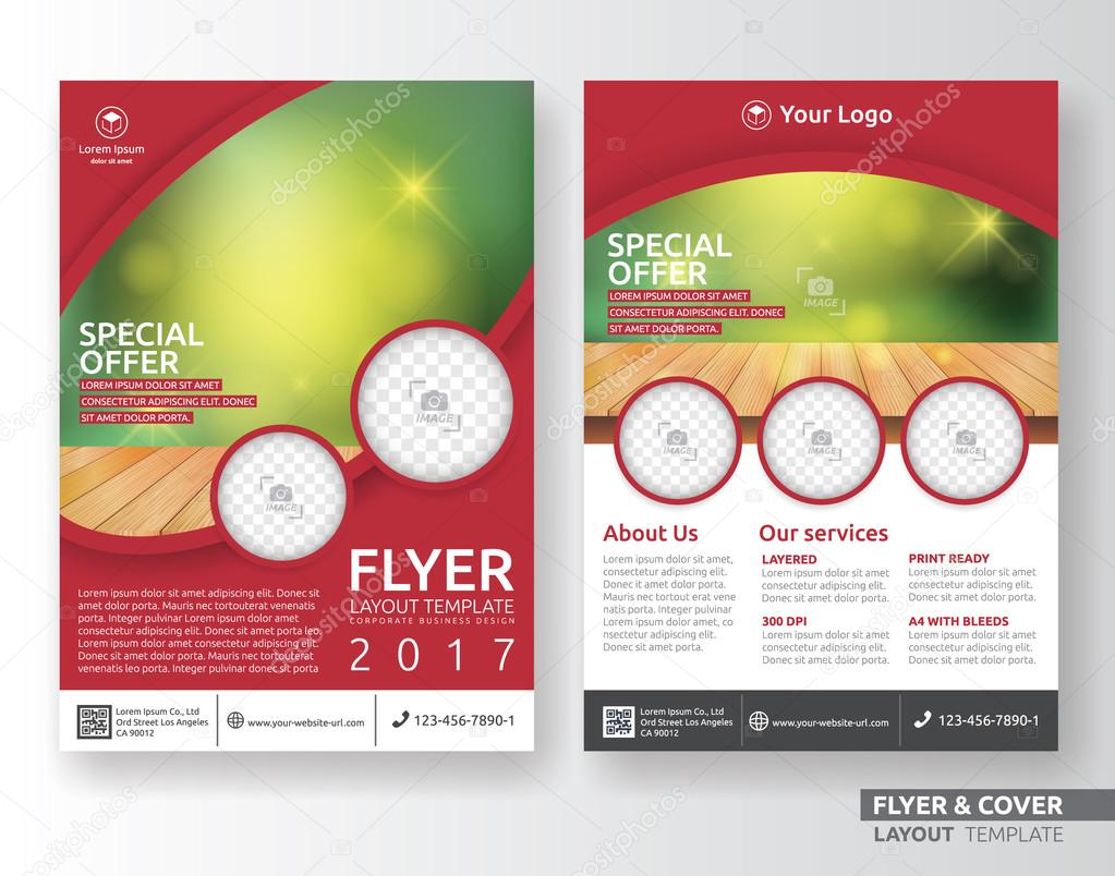 corporate business flyer layout template design stock vector corporate business flyer layout template design stock illustration
