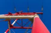 High-voltage power line — Stock Photo