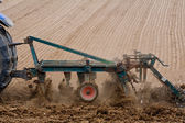 Spring plowing — Stock Photo