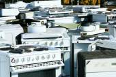 Recycled household appliances — Stock Photo