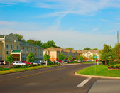 Hus i lilla staden — Stockfoto