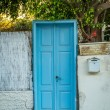 Old blue door — Stock Photo #74370525